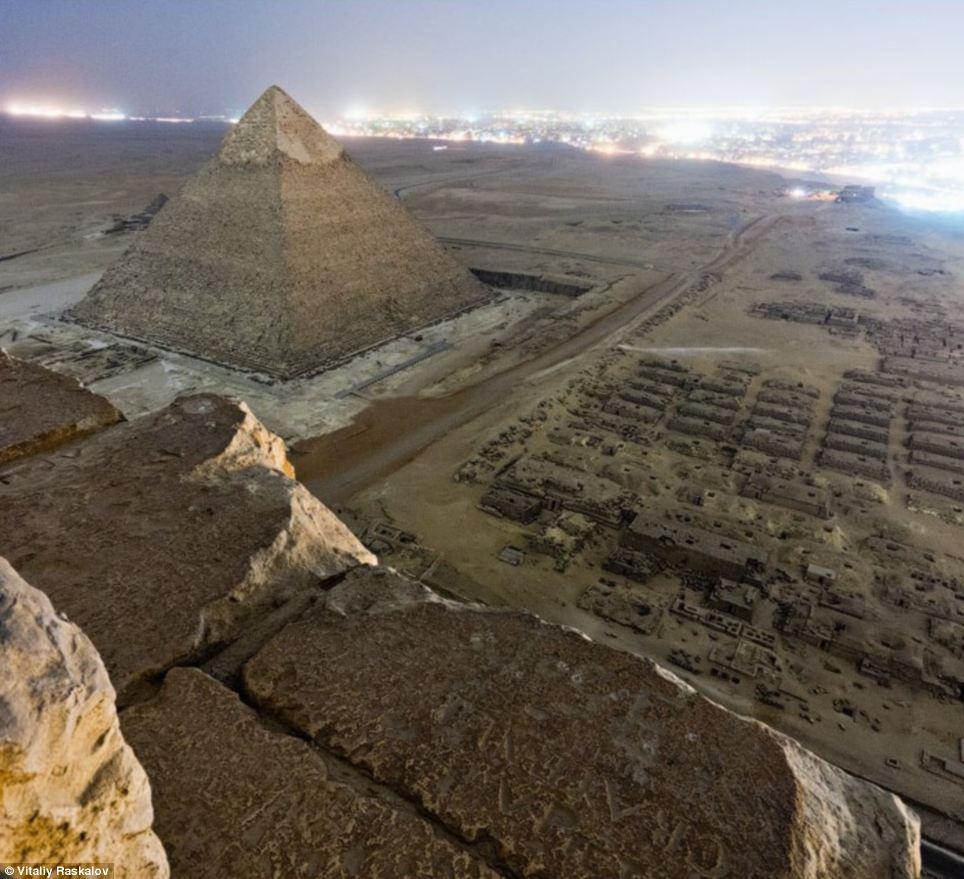 foto proibida das piramides