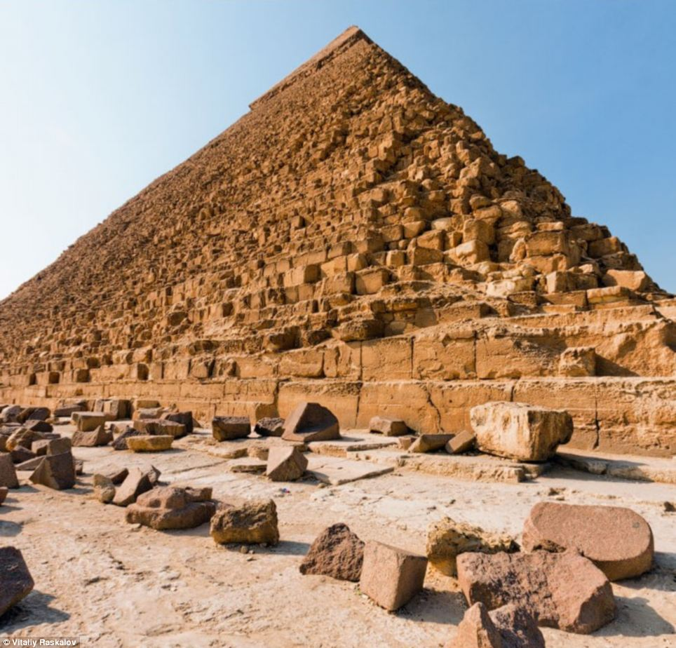 fotos proibidas das piramides -