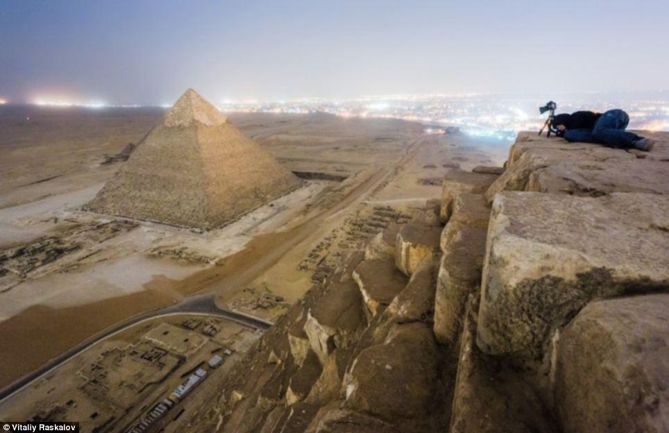 fotos proibidas das piramides Egito