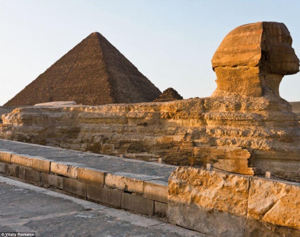fotos proibidas das piramides - Egito