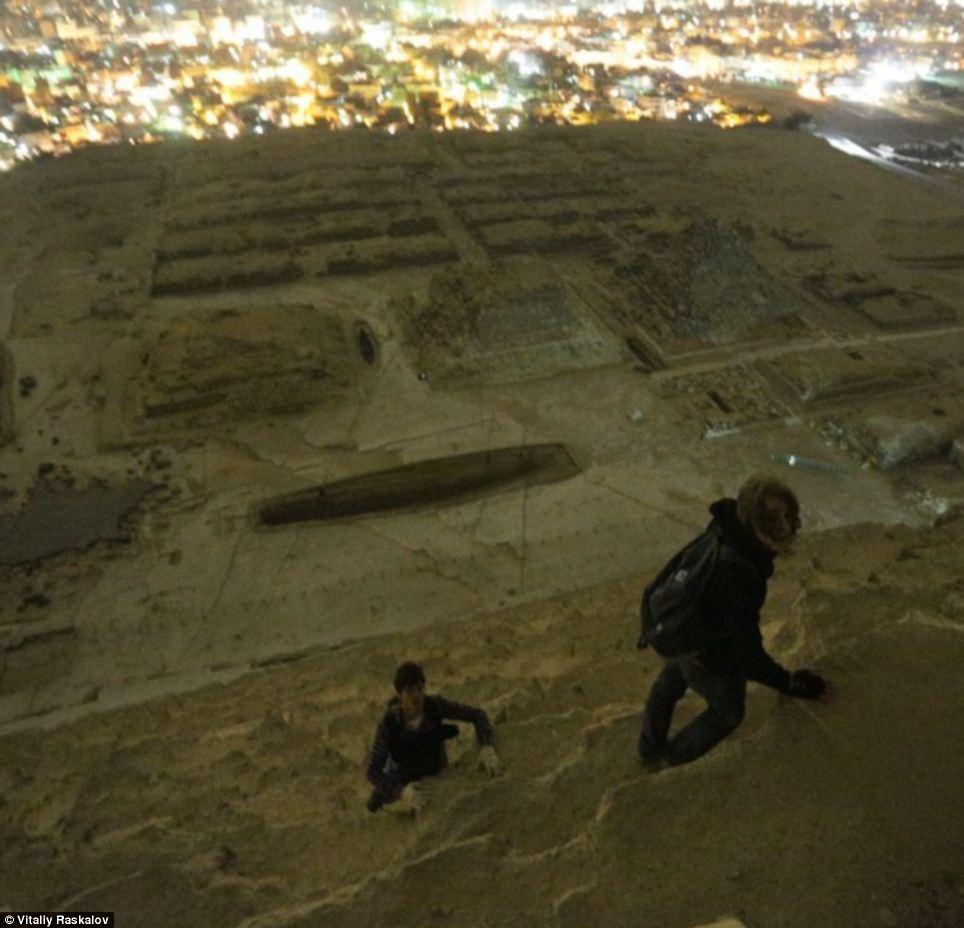 fotos proibidas das piramides Russos