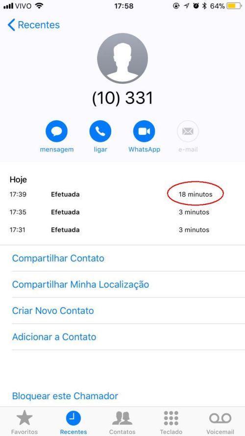cancelamento de telefone da OI