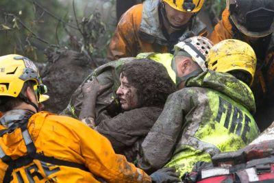 Deslizamento na California e prevencao de acidentes no Brasil