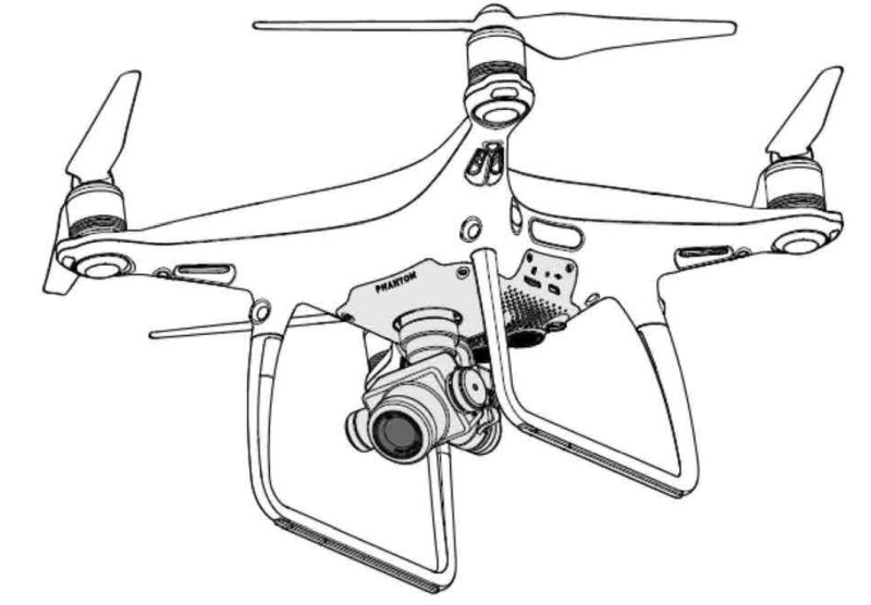 Manual DJI Phantom 4 pro + Portugues - BR
