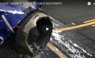 acidente aviao southwest