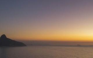 nascer do sol - Clube Costa Brava - rio de janeiro - barra da tijuca - drone 4k