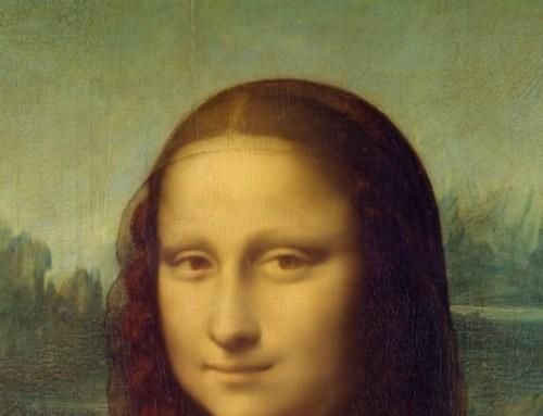 Piadinha visual: Monalisa no metrô