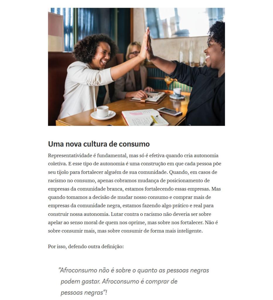 racismo - Afroconsumo