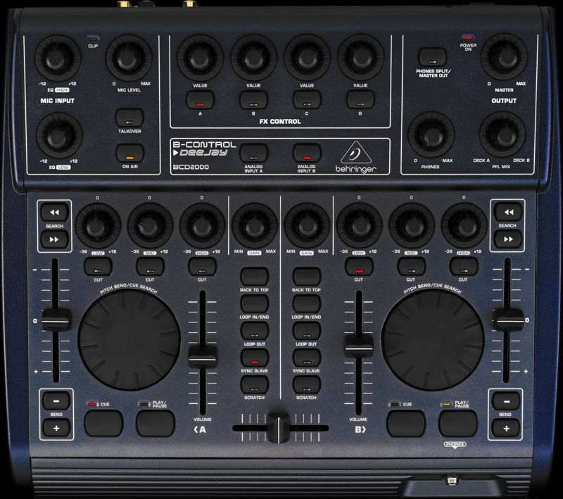 BCD2000 behringer download
