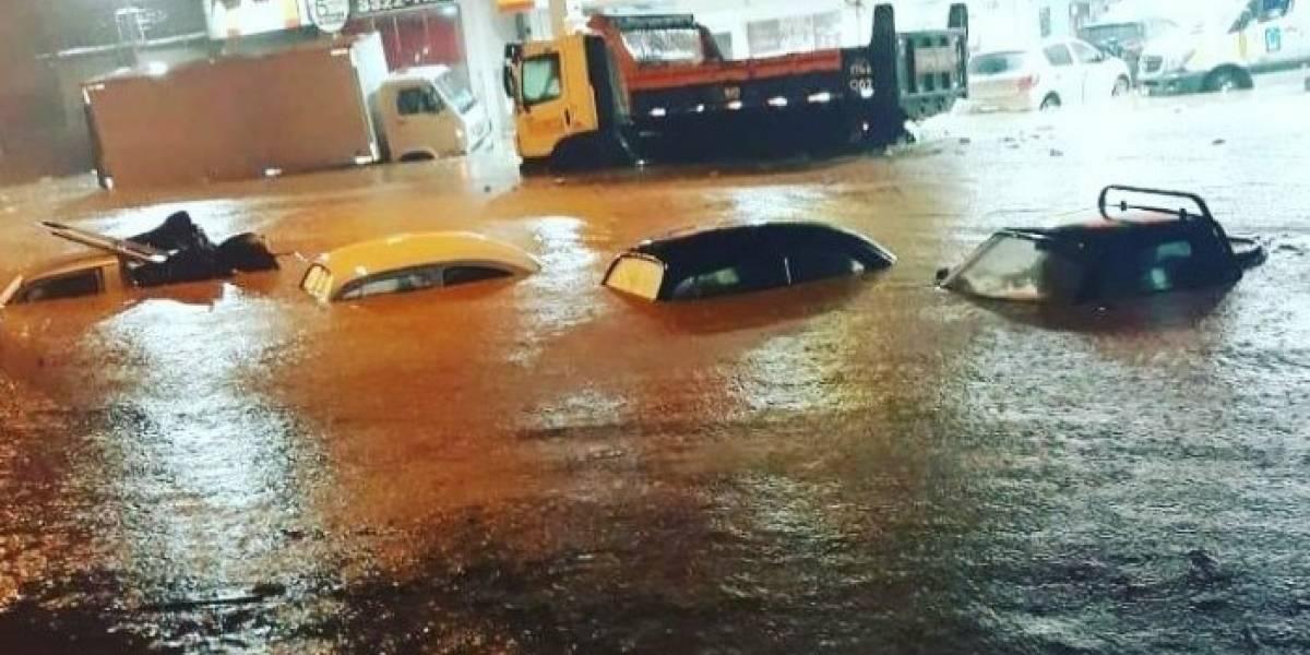 chuva no rio de janeiro
