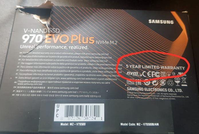Ssd M.2 Samsung 500gb M2 970 Evo Plus Nvme