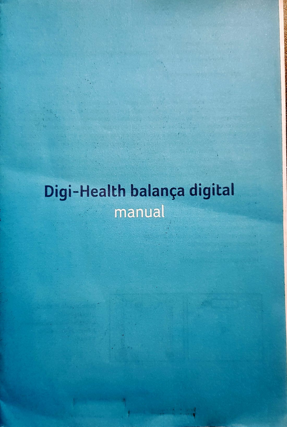 Manual Balanca Digital Digi-Health - Multilaser