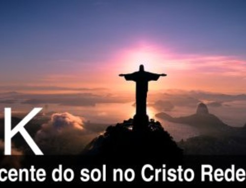 Amanhecer com o Cristo Redentor