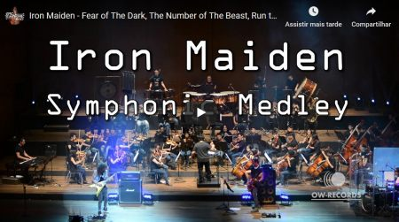 Iron Maiden tocado numa orquestra sinfônica