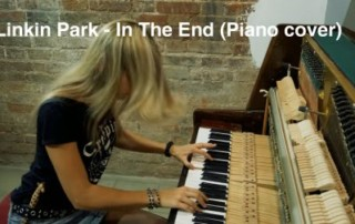 linkin park no piano