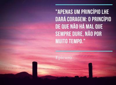 Citação Epicuro