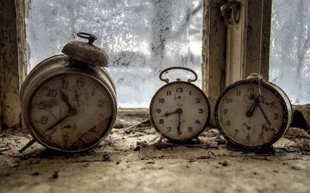 O relógio velho